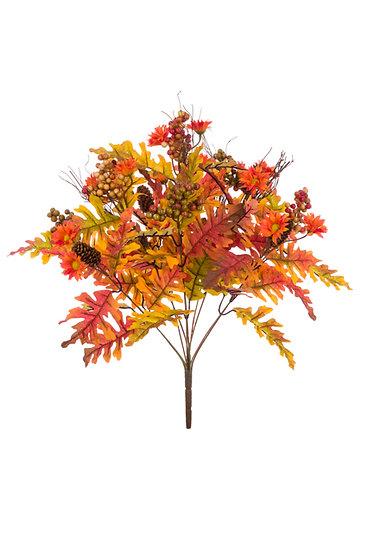 Autumn Oak leaf bush