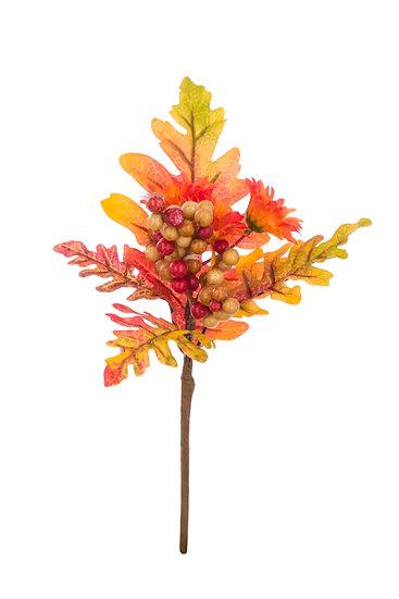 Autumn Oak leaf pick