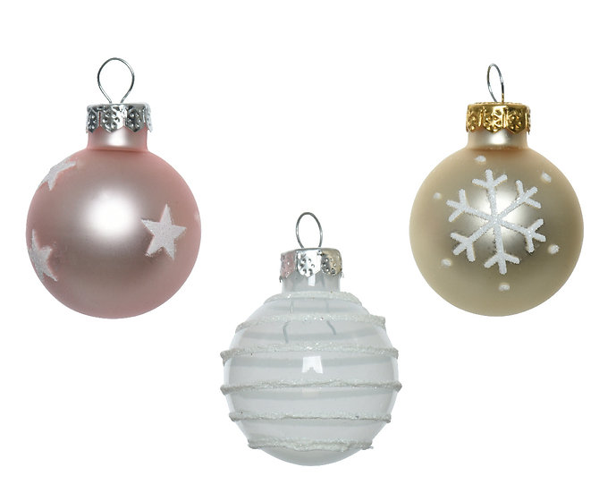 Glass Baubles Tube/9