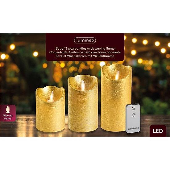Set /3 LED Candles