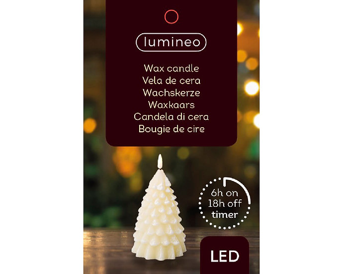 LED Tree Candle