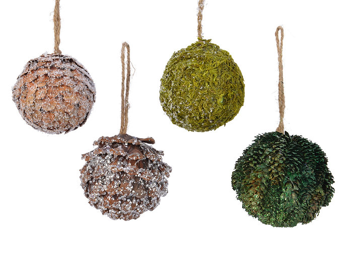 Natural Bauble Decorations
