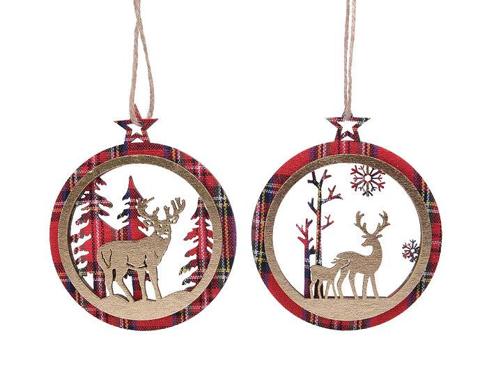Hanging Deer Scenery Decoration