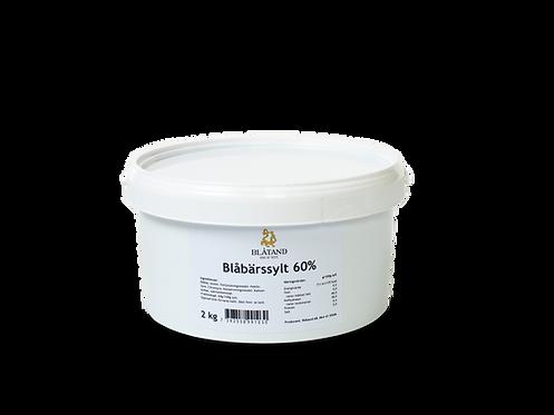 Blåbärssylt 60 % 2 kg