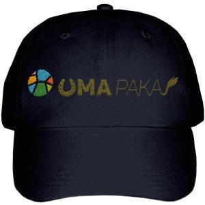 UMAPAKA キャップ[カラー:ブラック]