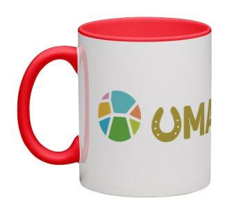 UMAPAKA マグカップ(レッド)