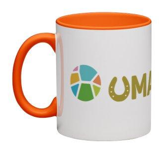 UMAPAKA マグカップ(オレンジ)