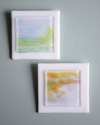 Small Glass Abstracts