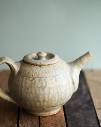 Ash Glazed Wood-Fired Teapot