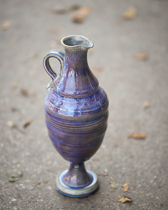 Purple Pitcher Vase