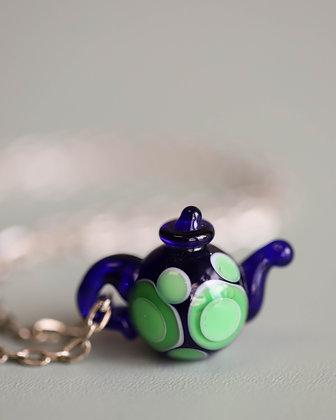 'Teapot' Glass Necklace