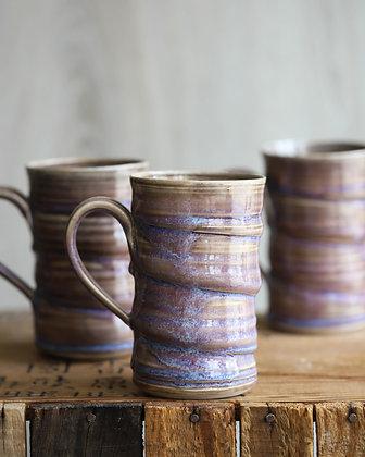 Large Purple Swirl Mugs