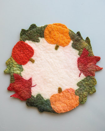 Fall Centre Piece/Candle Mat (Small)