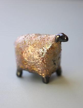 Gold Raku Sheep