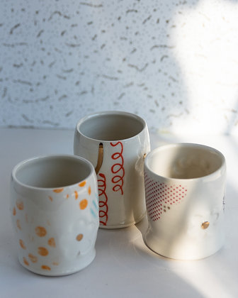 Hand Decorated Tumblers