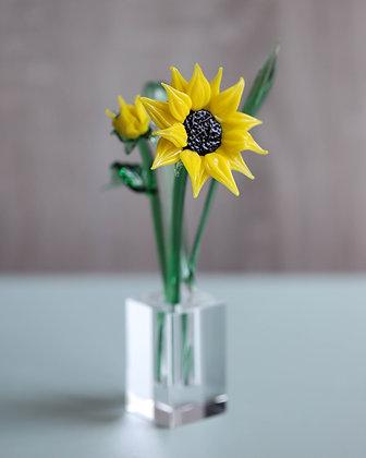 Glass Sunflower