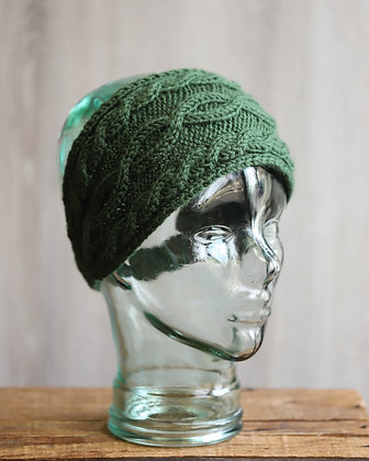 Dark Green Headband