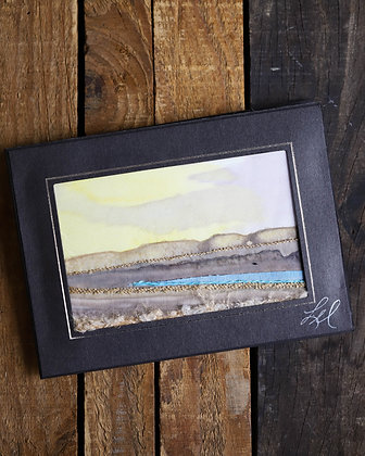 Thread Painted Card
