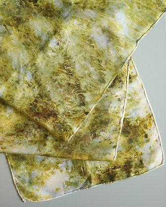 Botanically Dyed Silk Scarf