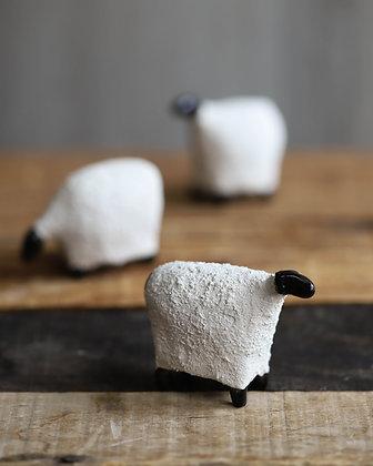 White Raku Sheep