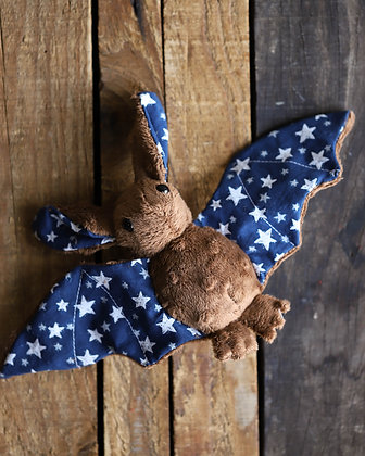 Brown Bat Plushie