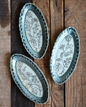 Small Decorated Trays