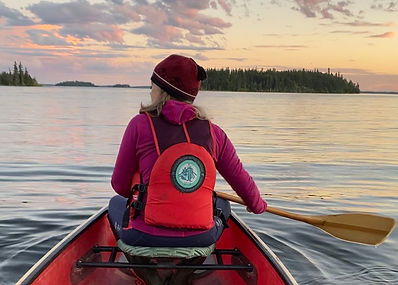 Evening paddle, lac La Ronge 2020 .jpeg