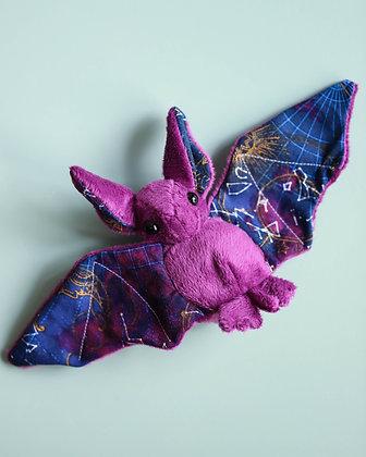 Purple Plushy Bat