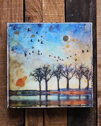 Trees Art Board