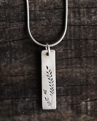 Delicate Wheat  Pendant