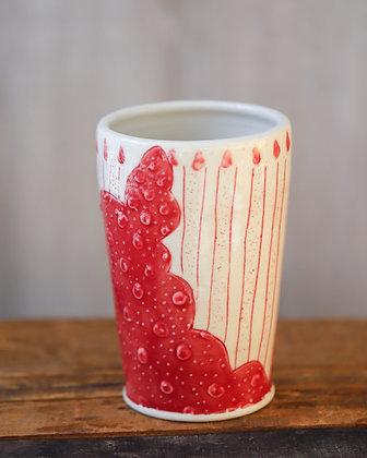 Graphic Ceramic Vessel