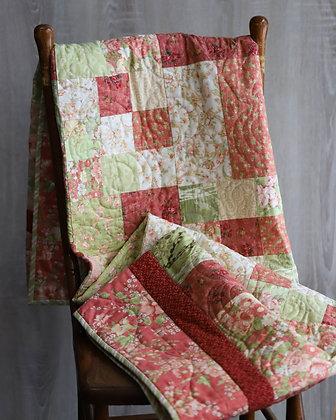 Pink & Green Quilt