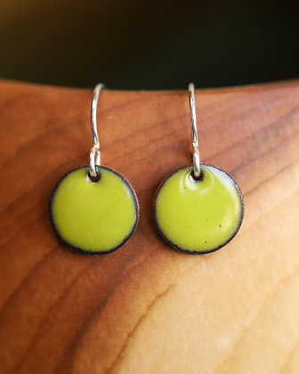 Lime Green Earrings