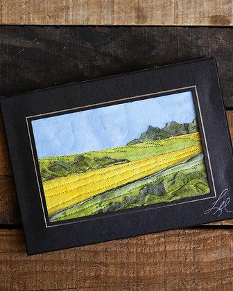 Thread Painting Card