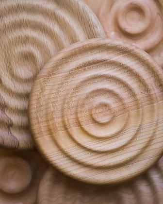 Ridged Wood Trivets