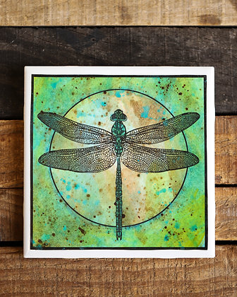 Dragonfly Wall Tile