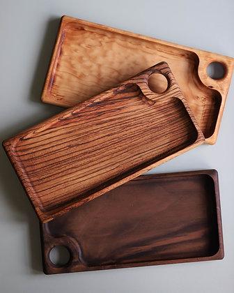 Small Wood Trays