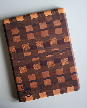 Checkered Cutting Board