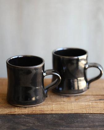 Black Ceramic Mugs