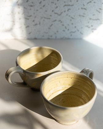 Cream Cappuccino Mugs