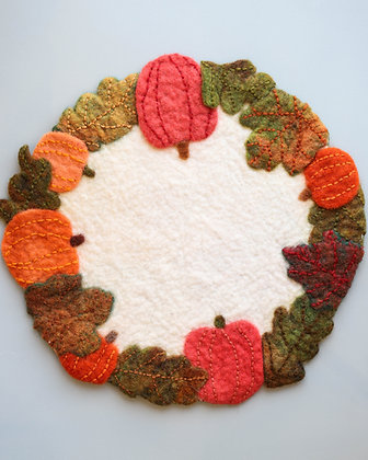 Fall Centre Piece/Candle Mat (Large)
