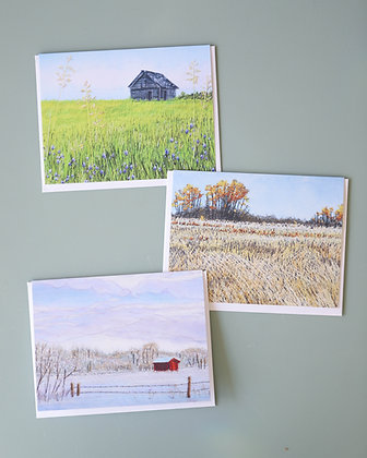 Prairie Seasons Card Pack