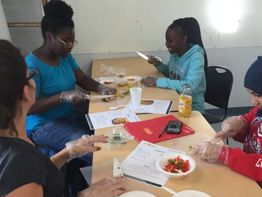 Food Bank Offers Culinary Program to Scholars
