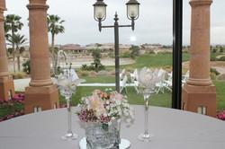 Arrangement for highboy tables