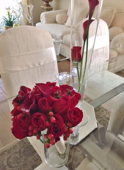 40th Wedding Anniversary bouquet