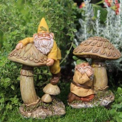 Gnomes Eddie & Freddie