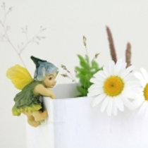 Fairy Baby Flower Pot Hugger