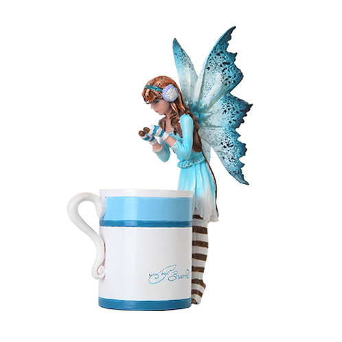 "Amy Brown Design ""Hot Cocoa Faery"""