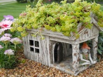 Wooden Planter House