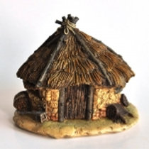 Thatched Roof Fairy House
